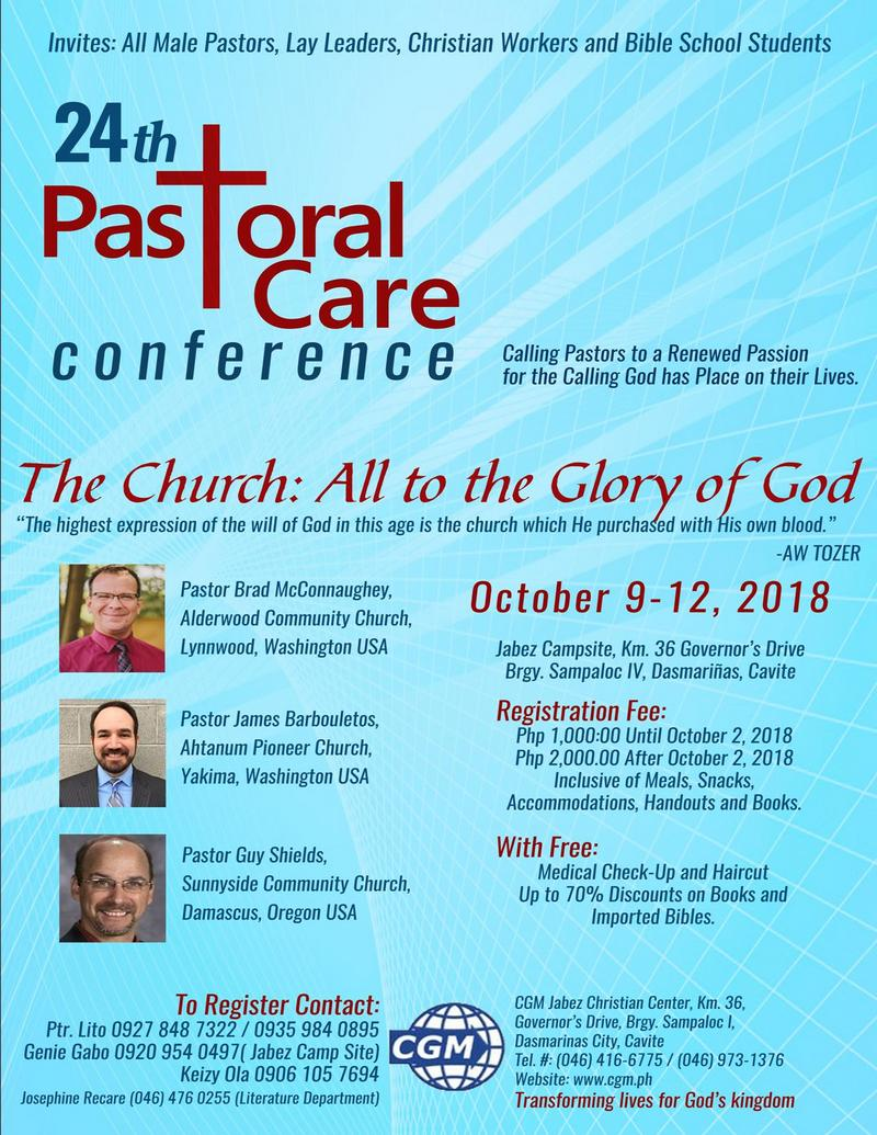 24th Pastoral Care Conference