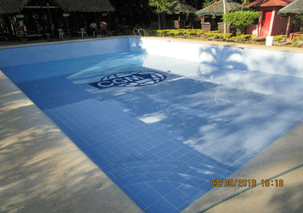 Cleaning and replacement of water of swimming pool