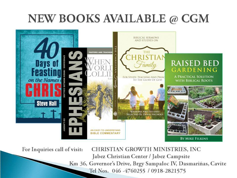 uh|New Books Available @ CGM
