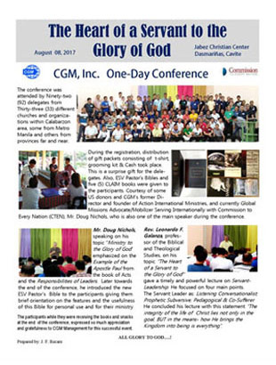 full|The Heart of a Servant to the Glory of God